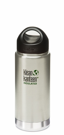 Klean Kanteen Insulated Wide Mouth 16oz Stainless