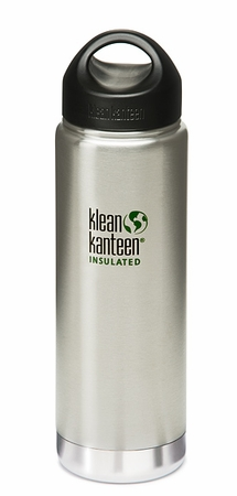 Klean Kanteen Insulated Wide Mouth 20oz Stainless