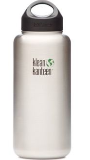 Klean Kanteen Wide 40oz Loop Top Bottle Stainless