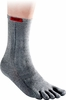 Injinji Liner Crew Heather Grey
