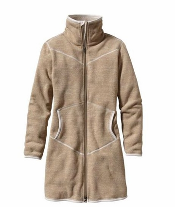 Patagonia Womens Full Zip Better Sweater Coat Birch White (Autumn 2013)