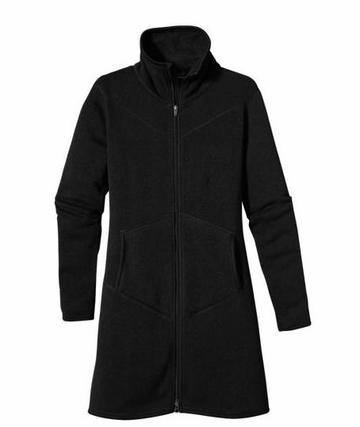 Patagonia Womens Full Zip Better Sweater Coat Black (Autumn 2013)