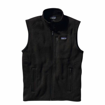 Patagonia Mens Better Sweater Vest Black (Spring 2014)