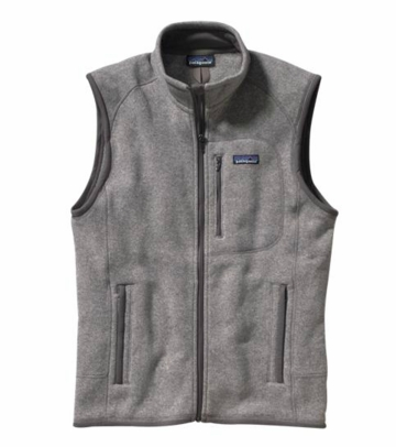 Patagonia Mens Better Sweater Vest Stonewash (Spring 2014)