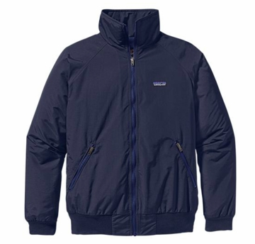 Patagonia Mens Shelled Synchilla Jacket Classic Navy with Viking Blue (Autumn 2013)