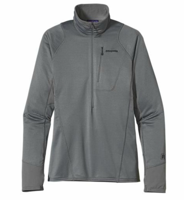 Patagonia Mens R1 Pullover Nickel (Autumn 2013)