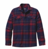 Patagonia Mens Long-Sleeved Fjord Flannel Shirt Comstock: Classic Navy (Autumn 2013)