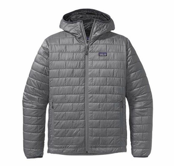 Patagonia Mens Nano Puff Hoody Nickel (Autumn 2013)