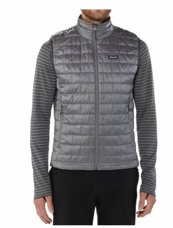 Patagonia Mens Nano Puff Vest Nickel (Autumn 2013)