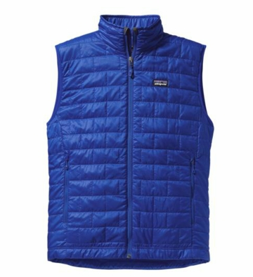 Patagonia Mens Nano Puff Vest Viking Blue (Autumn 2013)