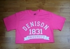 Denison Retro Neon Tee Electric Pink