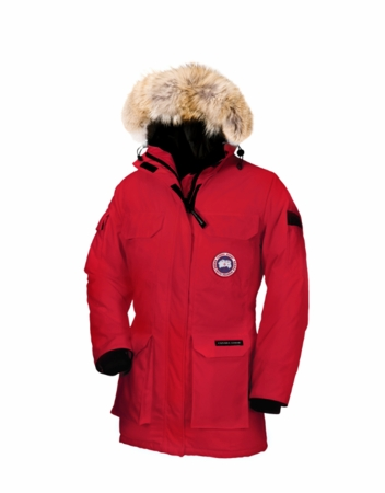 Canada Goose Womens Expedition Parka Red (Autumn 2013)