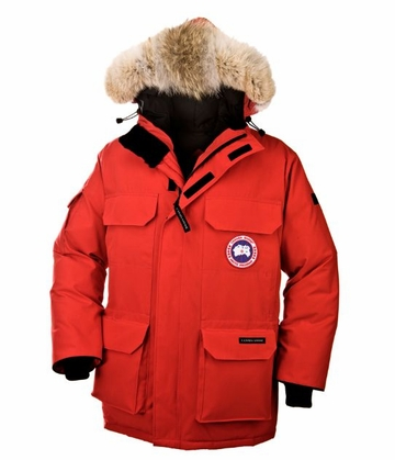Canada Goose Mens Expedition Parka Red (Autumn 2013)
