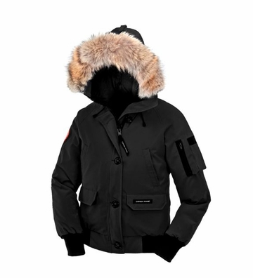 Canada Goose Womens Chilliwack Bomber Black (Autumn 2013)