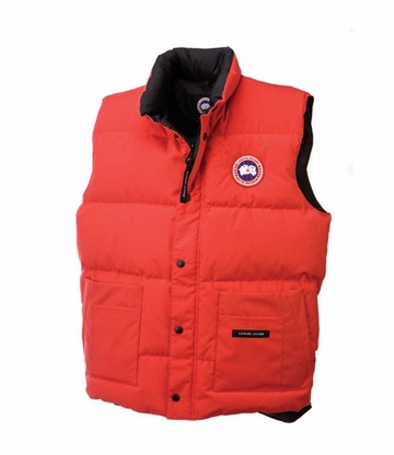 Canada Goose Mens Freestyle Vest Red (Autumn 2013)