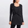 Lole Womens Donna Dress Black Heather Chevron