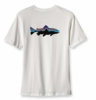 Patagonia Mens Trout Fitz Roy T-Shirt White