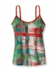 Patagonia Womens Hotline Top Painted Plaid: Paintbrush Red (Spring 2013)