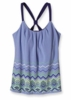 Patagonia Womens T-Back Top Going Native: Railroad Blue (Spring 2013)