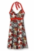 Patagonia Womens Iliana Halter Dress Veronique: Paintbrush Red (Spring 2013)