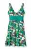 Patagonia Womens Margot Dress Dewdrop Flower: Teal Green (Spring 2013)