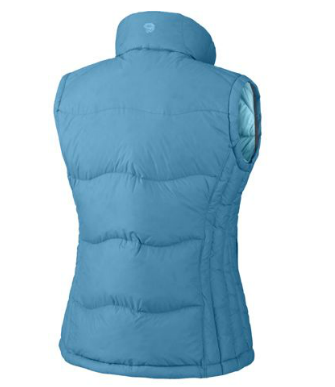Mountain Hardwear Womens LoDown Vest Oxide Blue (Autumn 2012)