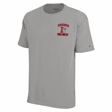 Denison Cross Country TShirts Oxford Grey