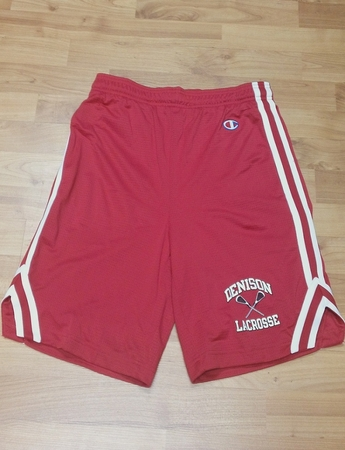 Denison Lacrosse Attack Short Red