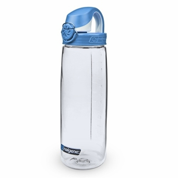 Nalgene on the Fly Clear w/ Sea Port Blue