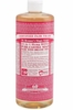 Dr. Bronner 32oz Liquid Soap Rose