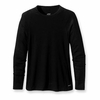 Patagonia Womens Capilene 2 Lightweight Black Crew (Close Out)