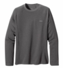 Patagonia Mens Capilene 3 Midweight Crew Forge Grey: Feather Grey X-Dye (Close Out)
