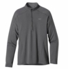 Patagonia Mens Capilene 3 Midweight Zip Neck Forge Grey: Feather Grey X-Dye (Close Out)
