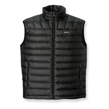 Patagonia Mens Down Sweater Vest Black (Spring 2014)