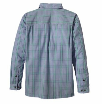 Patagonia Mens Long-Sleeved Island Hopper Shirt Gordon: Railroad Blue (Autumn 2013)
