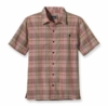 Patagonia Mens Puckerware Shirt Cuddy: Paintbrush Red (Spring 2013)
