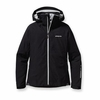 Patagonia Womens Powder Bowl Jacket Black with Birch White (Autumn 2012)
