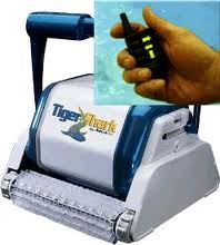 TigerShark2 Commercial Cleaner w/ Remote & Caddy