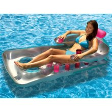 """""""Silver Series"""" French Classic Pool Lounger"""