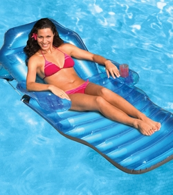 """Adjustable  Chaise Floating Lounge -- 80"""" X 36"""""""