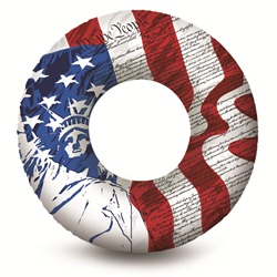 "Flag Print 36"" Water Tube"