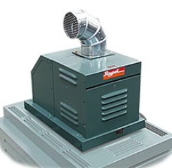 Raypak D2 Power Vents for Indoor Use