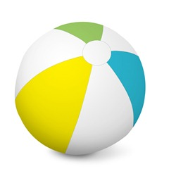 "Inflatable Ball - 46"" Diameter"