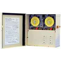 INT 220v Double Outdoor Time Clock Box