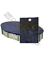 Basic Pool  Cover 15' x 30' Oval