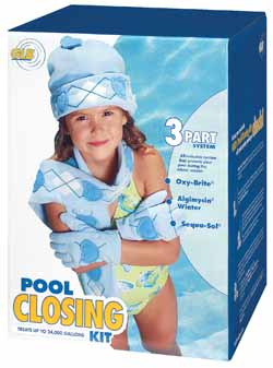 GLB Pool Closing Kit, up to 24,000 Gallons