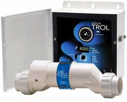 Aqua Trol Chlorinator - return jet fittings & twist lock line cord