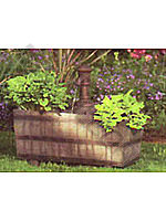 Little Giant Woodland Trough with Planter