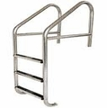 Commercial Cross Brace 3 Tread Ladder with Steps