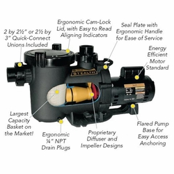 Jandy Stealth Pump ---- Two Speed 1 1/2 HP